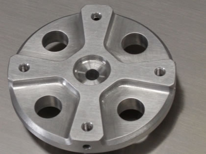 AEROSPACE : Aluminium Location Plate